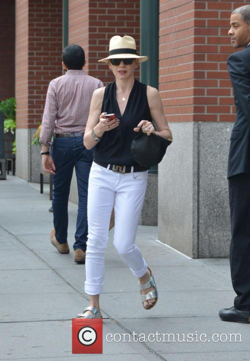 Julianna Margulies out and about