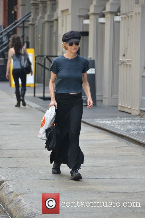 Meg Ryan out and about in Soho