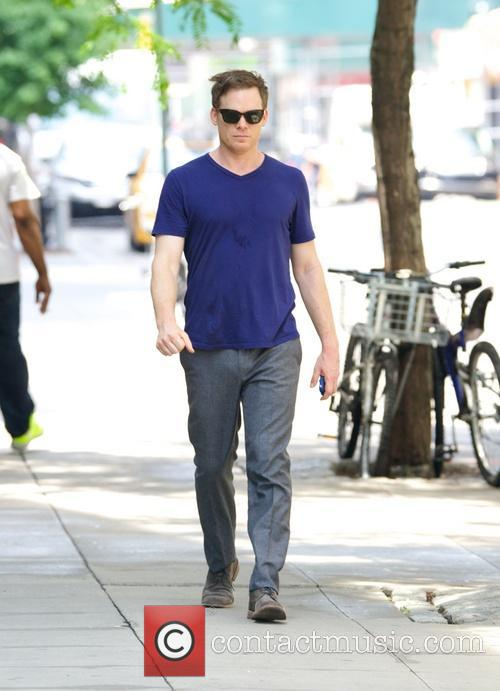Michael C. Hall spotted in the East Village