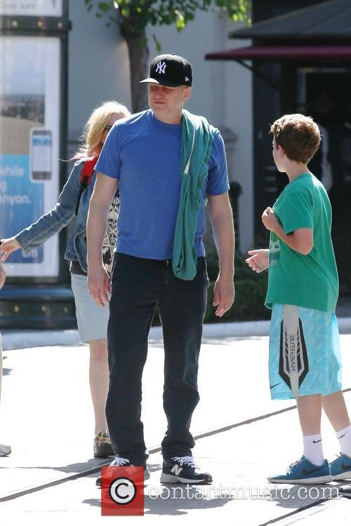 Michael Rapaport shopping at The Grove