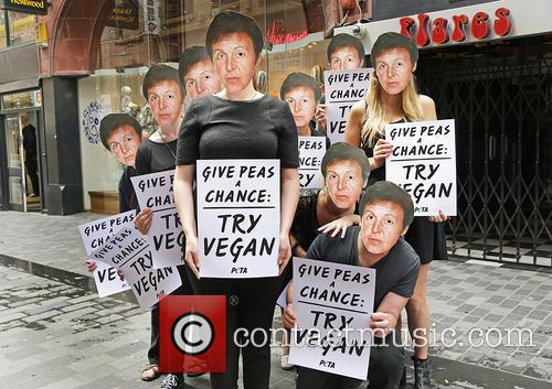 Paul Mccartney and Peta Supporters 3