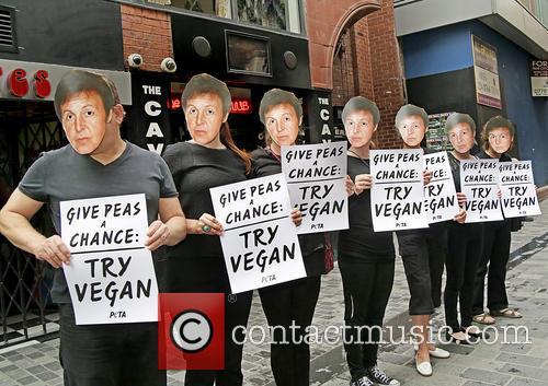 Paul Mccartney and Peta Supporters 4