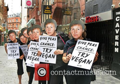 Paul Mccartney and Peta Supporters 5