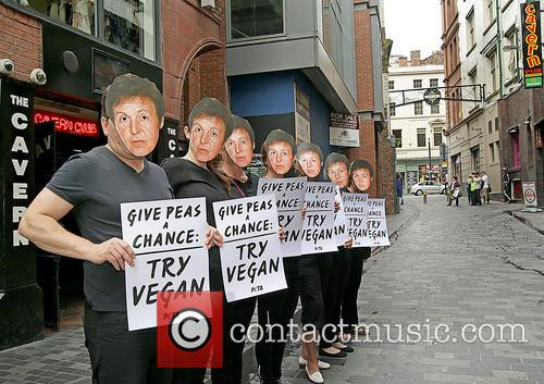 Paul Mccartney and Peta Supporters 9
