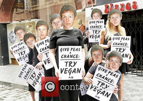 Paul Mccartney and Peta Supporters 10