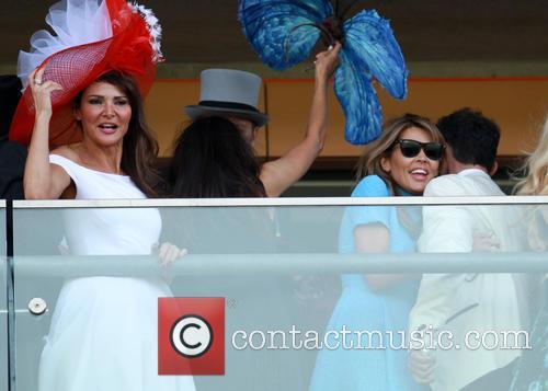 bruno tonioli lizzie cundy 2014 royal ascot  4247350