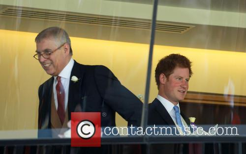 Prince Harry and Prince Andrew 1