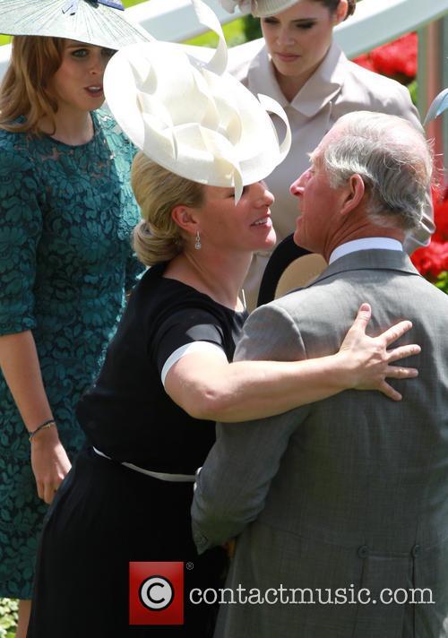 Prince Charles, Prince of Wales, Zara Philips, Royal Ascot