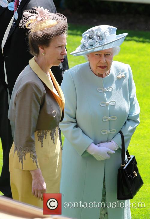 Queen Elizabeth II and Princess Anne 2