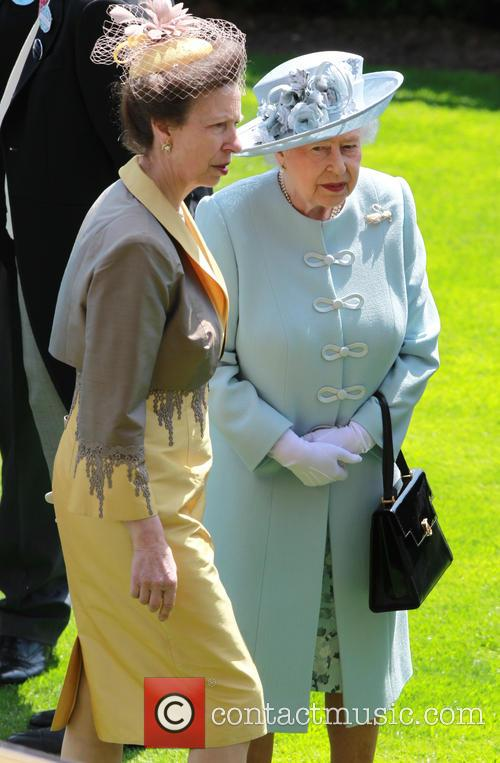 Queen Elizabeth II and Princess Anne 1
