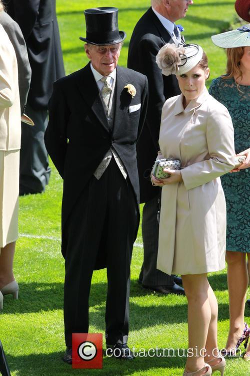 Prince Philip, Duke Of Edinburgh and Princess Beatrice 1