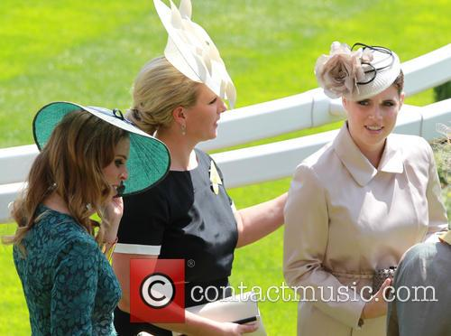 Princess Eugenie, Princess Beatrice and Zara Philips 4