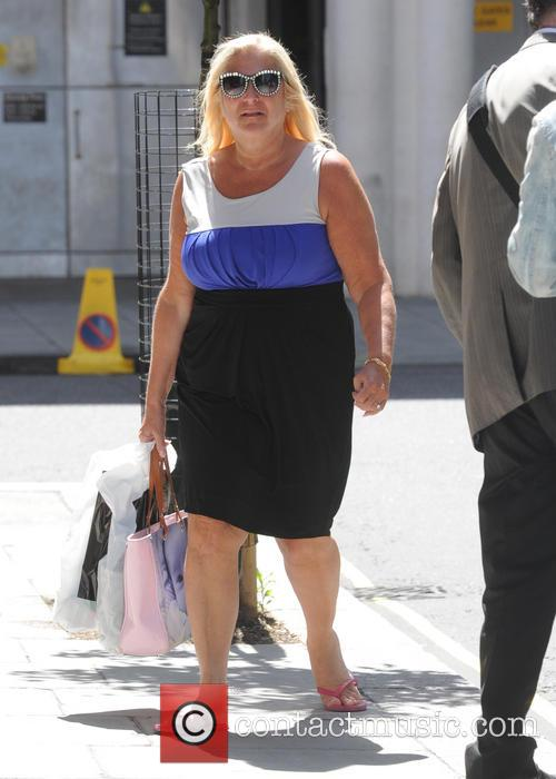 Vanessa Feltz out in London