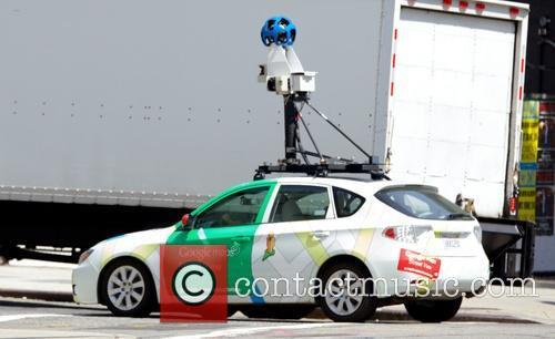 Google Map Street View Car