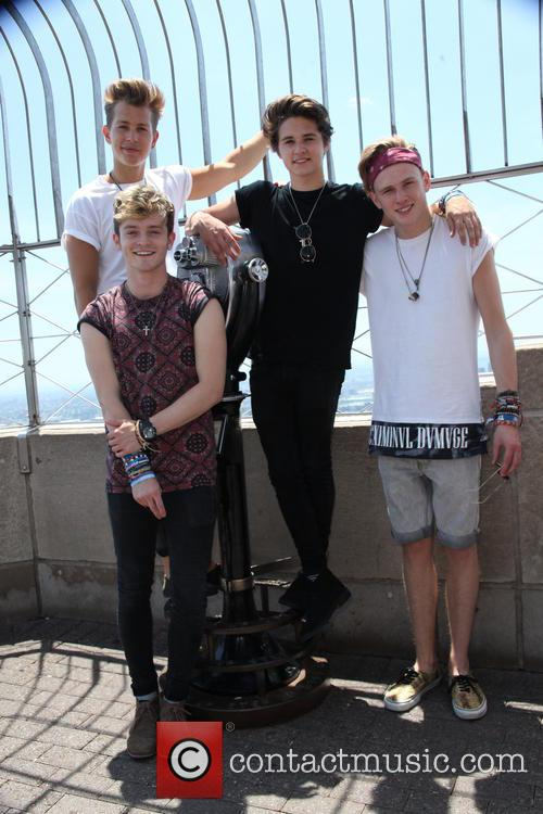 The Vamps At The Empire State Building