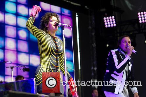 Régine Chassagne and Win Butler (arcade Fire)