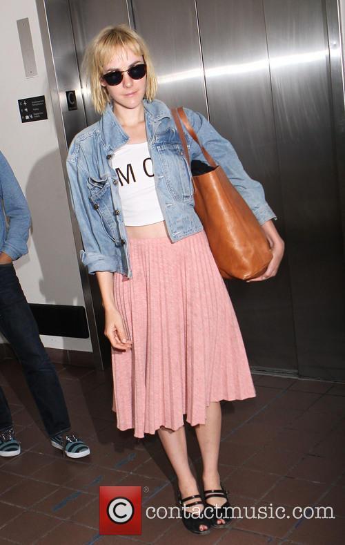 Jena Malone at LAX