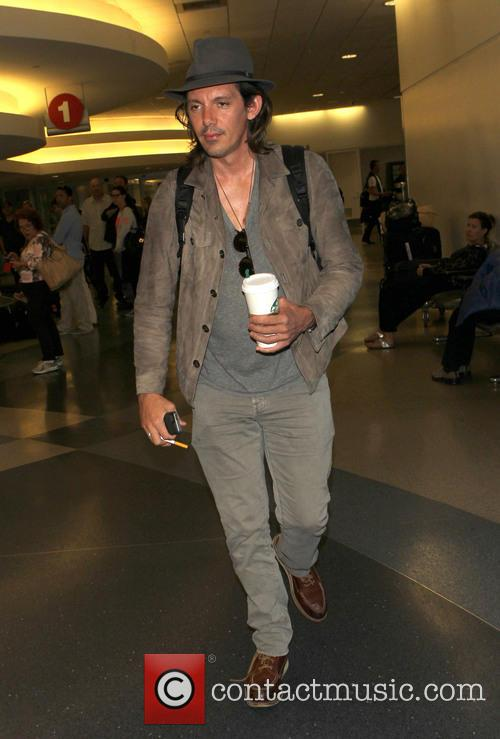 Lukas Haas at LAX