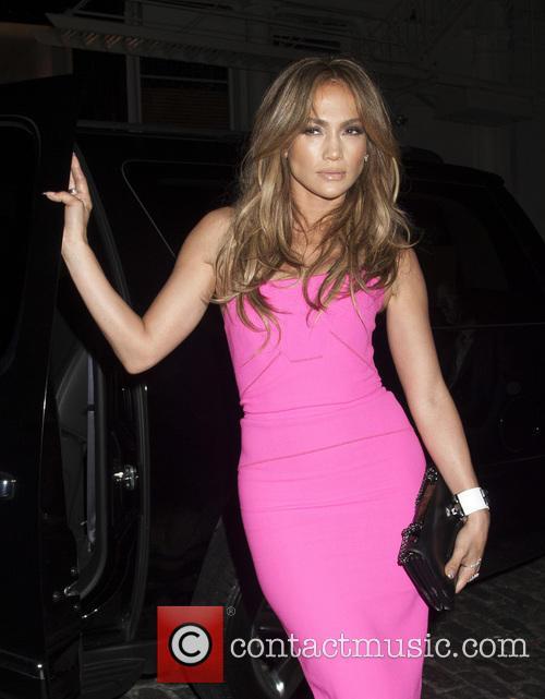 Jennifer Lopez Arrives at Beats Fan Party