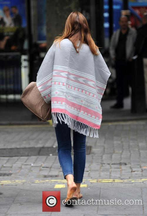 Lisa Snowdon in Leicester Square