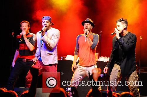 Erik-michael Estrada, Dan Miller, Trevor Penick, Jacob Underwood and O-town 5