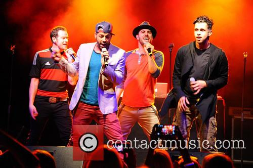 Erik-michael Estrada, Dan Miller, Trevor Penick, Jacob Underwood and O-town 11