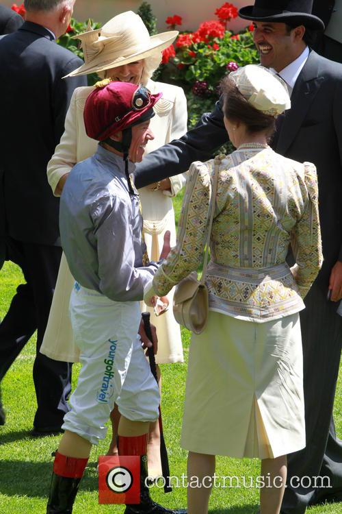 Anne, Princess Royal and Frankie Dettori 3