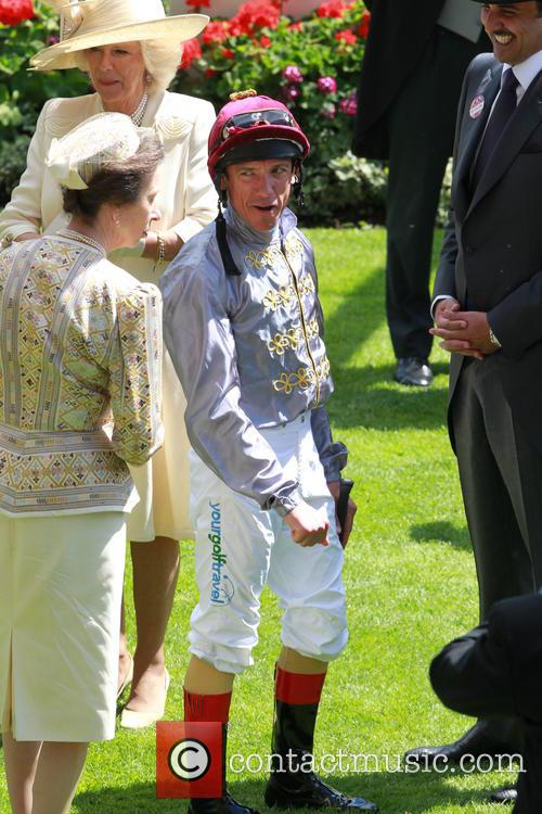 Anne, Princess Royal and Frankie Dettori 5