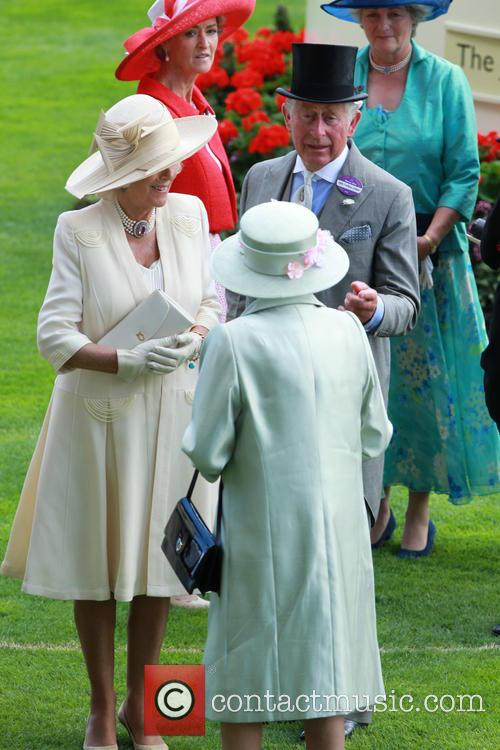 Camilla, Duchess Of Cornwall, Prince Charles, Prince Of Wales and Queen Elizabeth Ii 2