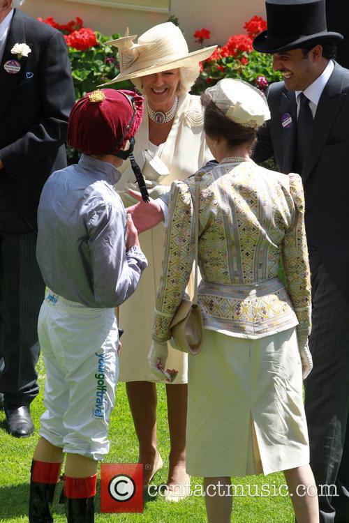 Frankie Dettori, Camilla and Duchess Of Cornwall 2