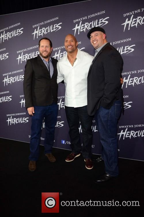 Dwayne Johnson, Beau Flynn and Guest 2