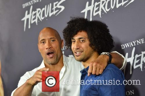 Dwayne Johnson and Kristian Schmidt 4