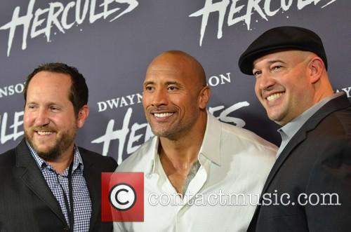 Guest, Dwayne Johnson and Beau Flynn 2