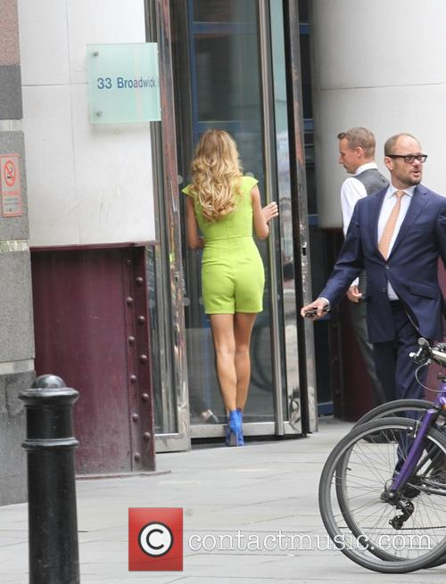 Chloe Sims Strolling Through Soho