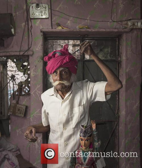 Portraits of Street Performers of The Kathputli Colony