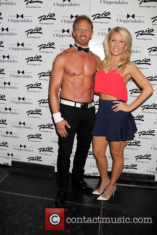 Gretchen Rossi Visits Chippendales