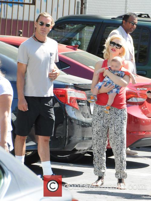 Gwen Stefani, Gavin Rossdale and Apollo Rossdale 5