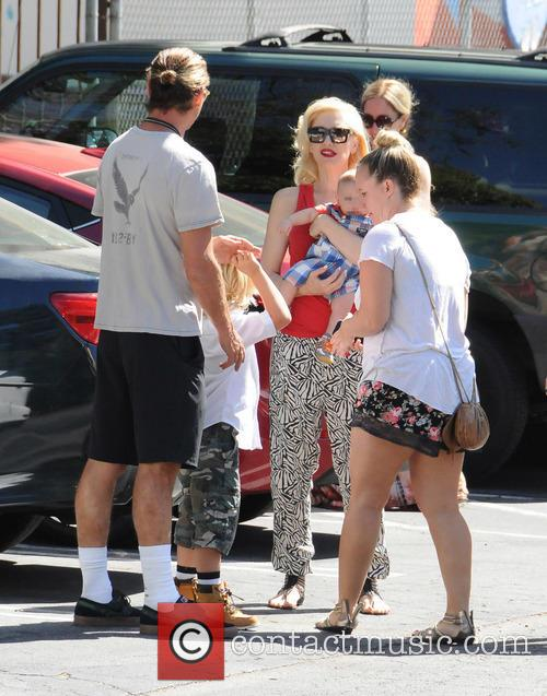 Gwen Stefani out and about in Los Angeles...