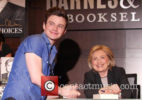Hillary Rodham Clinton and Chris Colfer 4