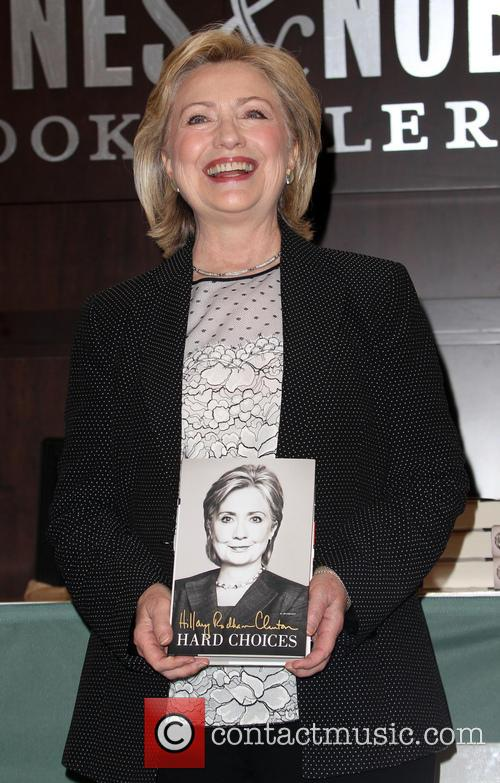 Hillary Rodham Clinton's book signing event for her...
