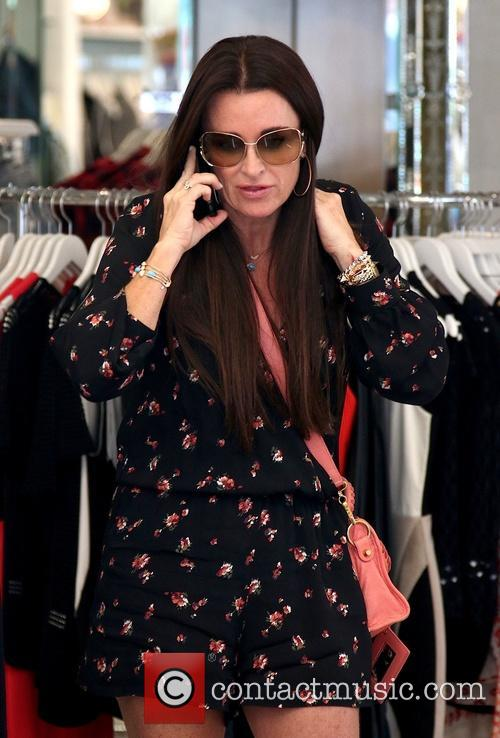 Kyle Richards at Kyle by Alene Too on...