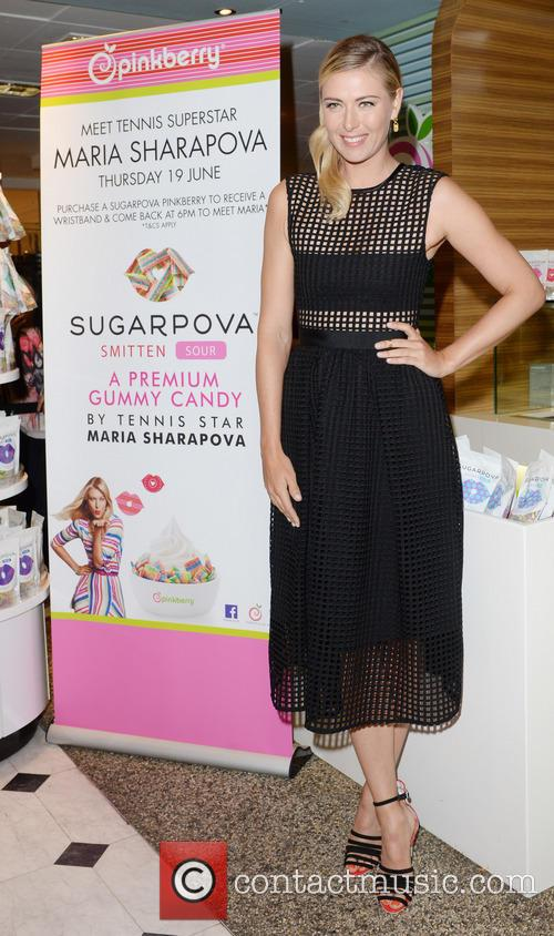 Launch of Sugarpova Pinkberry topping at Selfridges