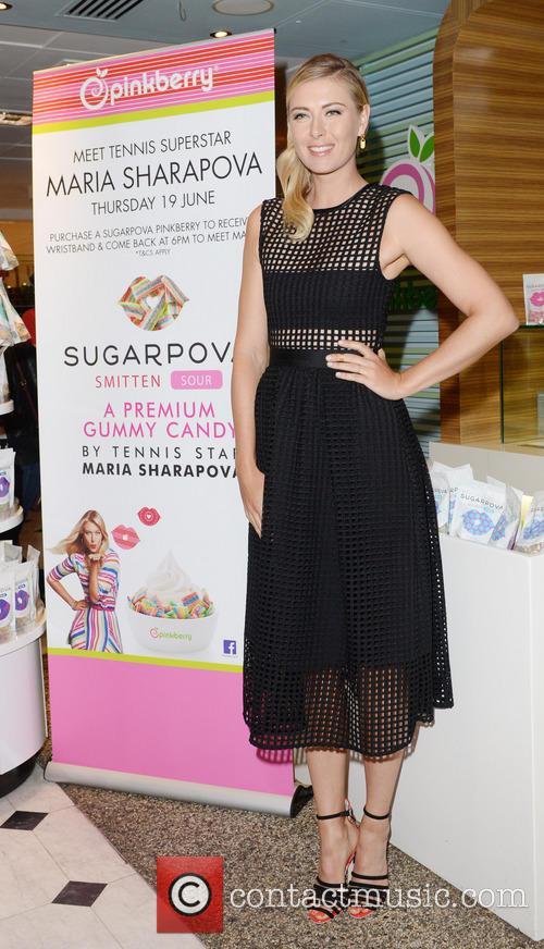 Launch of Sugarpova Pinkberry topping at Selfridges