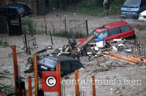Severe Flooding In Bulgaria