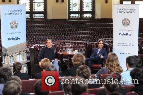 Paul McGann speaks at the Cambridge Union Society