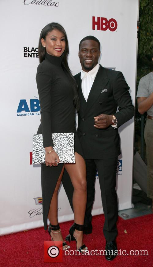 Torrei Hart and Kevin Hart 1
