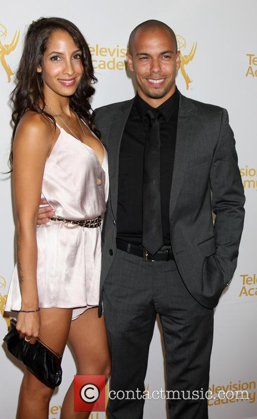 Christel Khalil and Bryton James