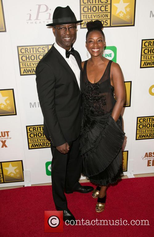 Isaiah Washington and Jenisa Marie  Washington 3