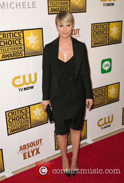 kaley cuoco sweeting 4th annual critics choice 4250550