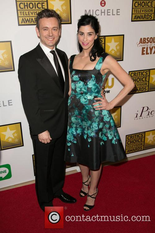 Michael Sheen and Sarah Silverman 3
